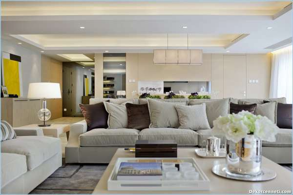 Dekoratif salon aksesuarlar 30 mart 2018 dekorcennet com for 30 m2 salon dekorasyonu