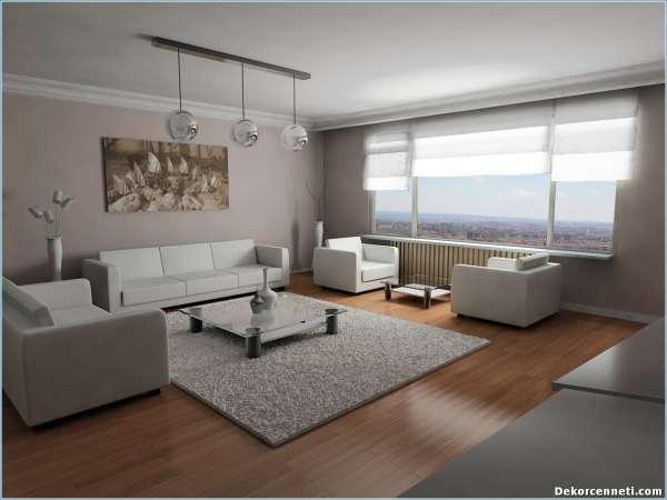 Spor ev dekorasyonu 8 nisan 2018 dekorcennet com for 30 m2 salon dekorasyonu