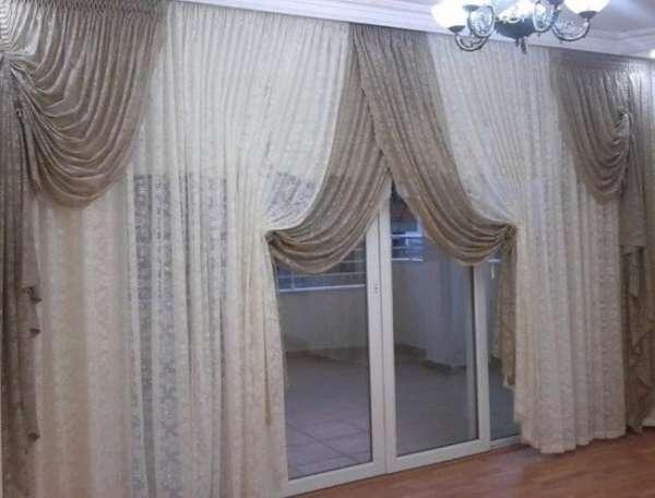 modern fon perde modelleri 2018 dekorcennet com. Black Bedroom Furniture Sets. Home Design Ideas