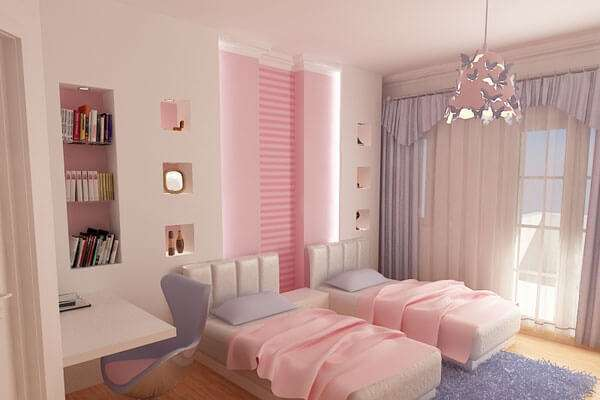 K z ocuk odas dekorasyon fikirleri 2018 dekorcennet com - Colores para pintar habitacion juvenil ...