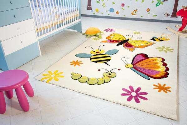 En Güzel Bebek Odası Halıları