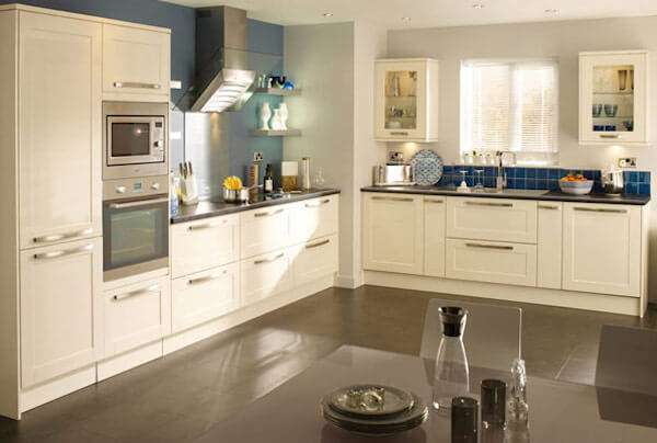 Sherwood Pale Cream Kitchen