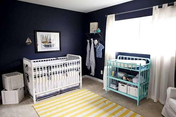 Erkek Bebek Odası Duvar Kağıdı Modelleri 2018