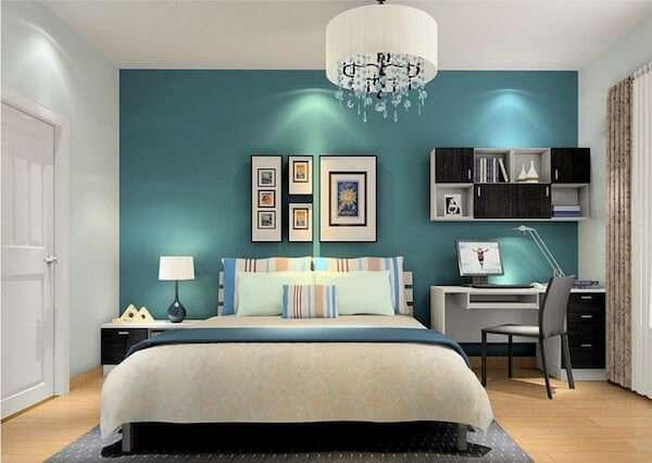 Popüler Yatak Odası Duvar Boyası Renkleri 2019