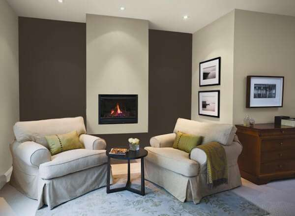 Red And Gray Room Trim Ideas