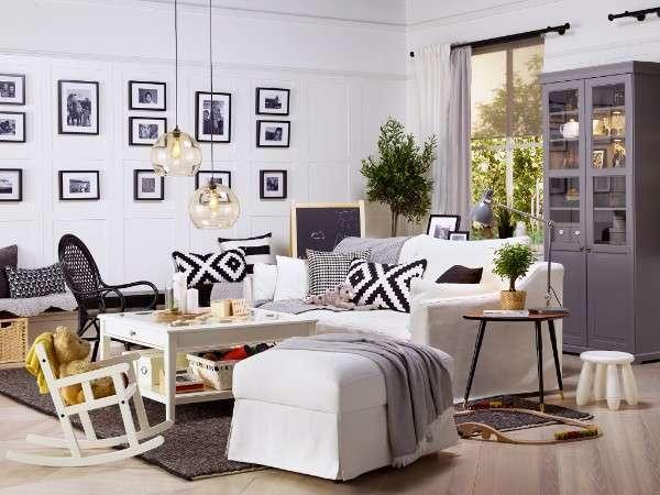 Kea salon tak m modelleri 2019 dekorcennet com - Table salon blanc ikea ...