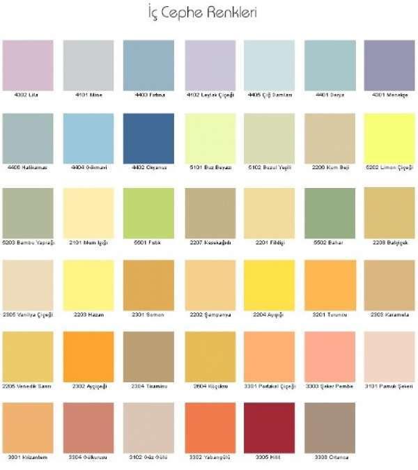 Marshall Boya Renkleri 2019 Dekorcenneticom