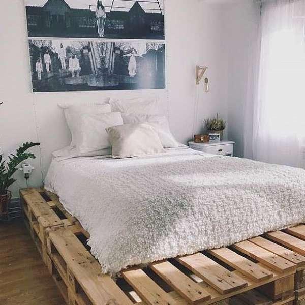 Birbirinden Kullanisli 50 Palet Yatak Odasi Takimi 2019