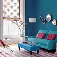 En çok tercih edilen renk kombinasyonlarından biri de mavi ile pembe