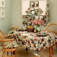 en güel mutfak masa örtüsü takımları