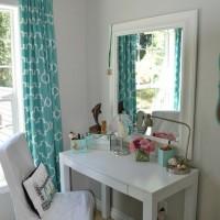 genc kız odası makyaj masası