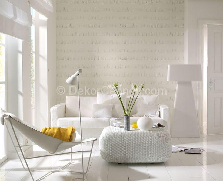 Beyaz salon dekorasyon rnekleri 16 ubat 2018 for Ev dekorasyonu salon ornekleri