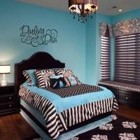 mavi genc odası dekorasyonu
