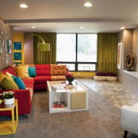 renkli ev dekorasyon örnekleri