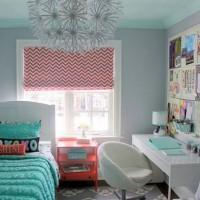 yeşil genc odası dekorasyonu