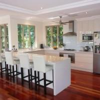 En Yeni u mutfak dekorasyonu Fotoğrafları