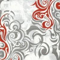 gri kırmızı saray halı modelleri