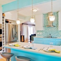 u şeklinde mutfak dekorasyonu
