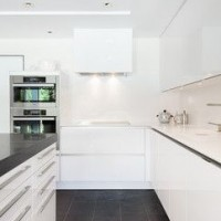 yeni u mutfak dekorasyonu resimleri 200x200