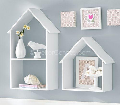 çocuk Odaları Için Dekoratif Raf Modelleri 2020
