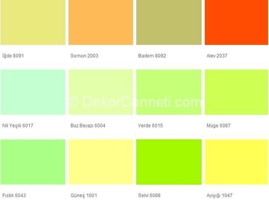 Fawori Ic Cephe Renk Kartelasi Katalogu 2020 Dekorcenneti Com