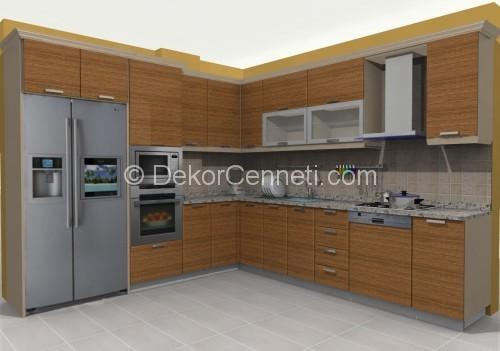 L Mutfak Dolabı Modelleri 2018 Dekorcennetİ Com